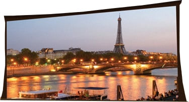 "146""x260"" Paragon HDTV Electric Projection Screen in Matte White"