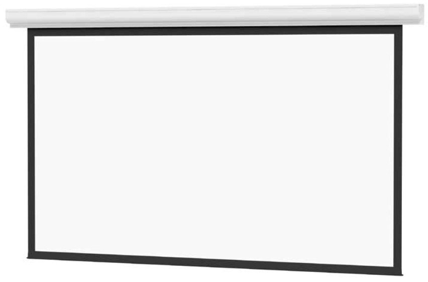 Designer Contour Electrol 52in x92in High Contrast Matte White Screen with Veneer Finish