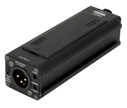 Battery Powered Single-Channel Microphone Preamplifier