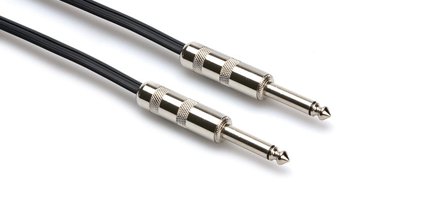 """100 ft 16AWG 1/4""""  to 1/4"""" TS Speaker Cable"""