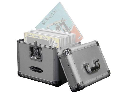 70-Disc Krom LP/Utility Case in Silver