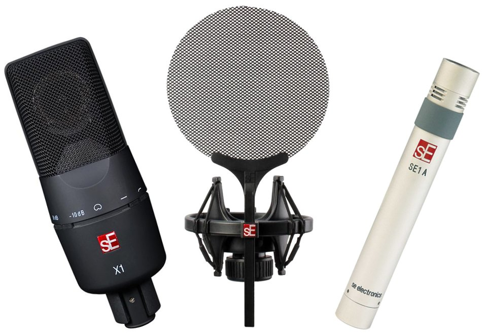 Microphone Bundle with Isolation Pack Accessory Kit