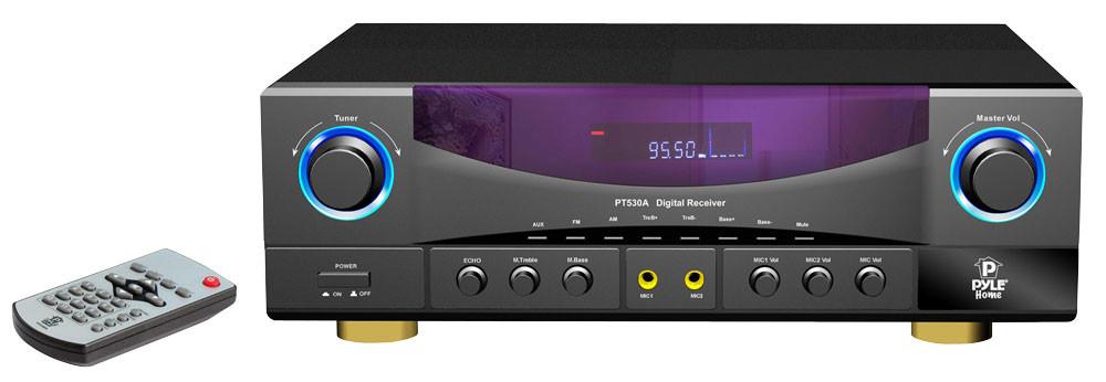 Pyle Pro PT530A 350W AM/FM Stereo Receiver PT530A