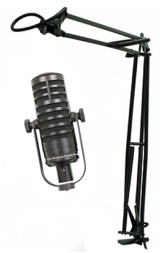 Microphone Package with MXL BCD-1 Dynamic Microphone and MXL BCD-Stand Microphone Arm