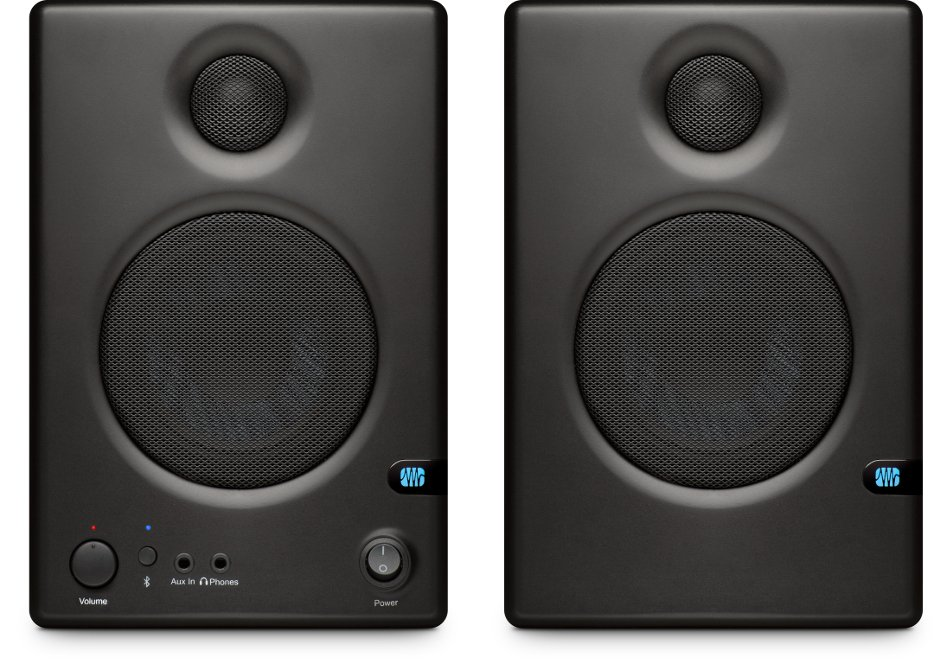 """Pair of 3.5"""" Active Studio Monitors with Bluetooth Connectivity"""