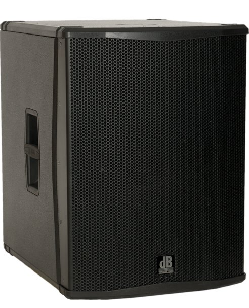 "18"" 2000W Peak Active Subwoofer with Onboard DSP"