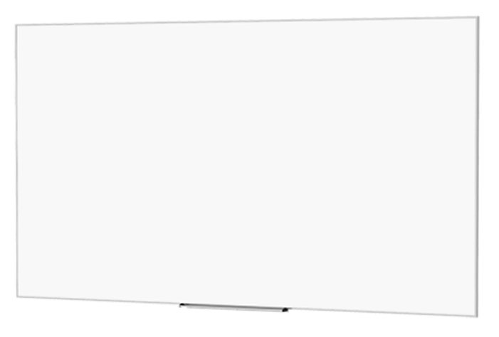 "87"" 16:10 Wide Format IDEA Screen with 24"" Marker Tray"