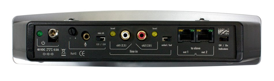 Mult-Channel Infrared Emitter for Assisted Listening Systems, 2.3/2.8 MHz
