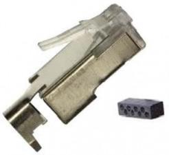 RJ45 Cat 5e Shielded 8P8C Plug