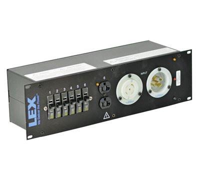 3RU Rack Mount Power Distributor