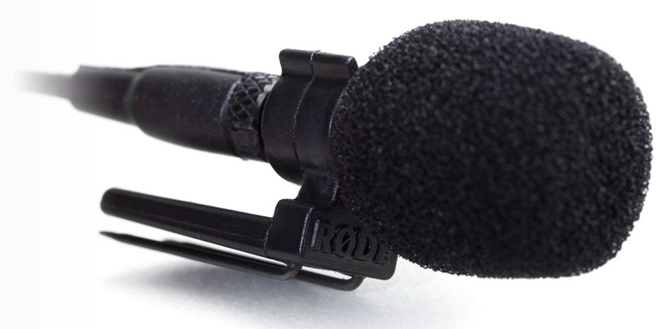 Double-Toothed Microphone Clothing Clip