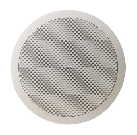 """6.5"""" Ceiling Speaker with 70/100V Transformer and Low Impedance Operation, Pre-Install Version"""