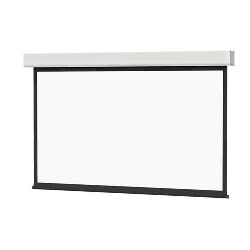 """50"""" x 80"""" Advantage Manual with CSR Projector Screen with High-Contrast Matte White Surface"""
