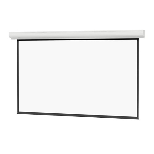 "87"" x 116"" Contour Electrol Projector Screen with High Contrast Matte White Surface"