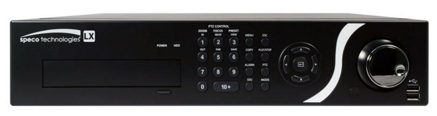 1TB 8 Channel LX Hybrid DVR with Looping Outputs