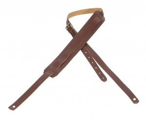 "0.75"" Leather Guitar Strap"