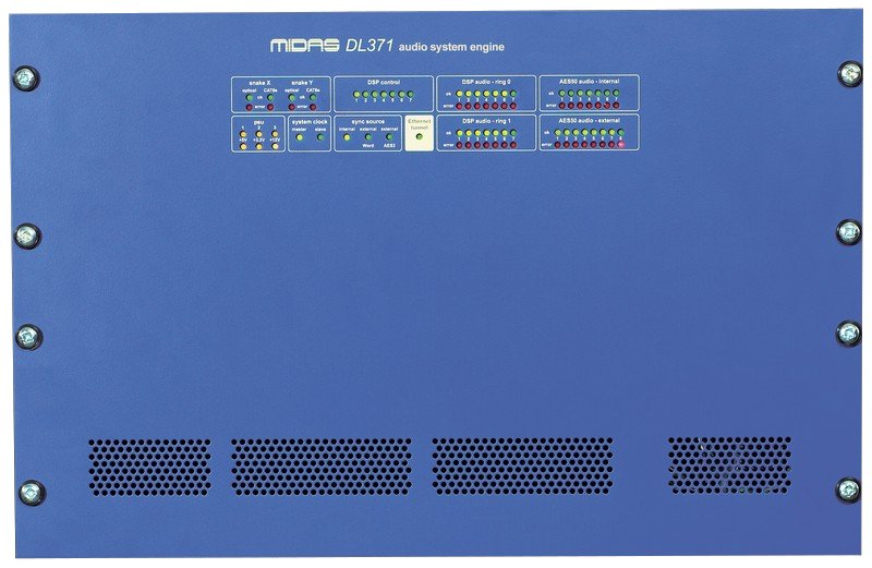 Midas DL371 PRO3 Modular DSP Engine for PRO3 Console DL371PRO3-01