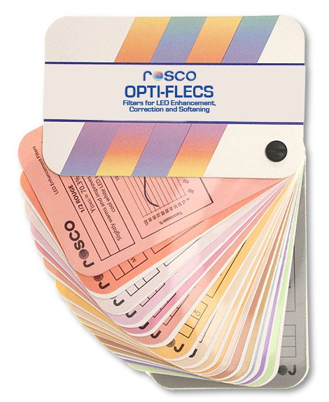 Rosco Laboratories OPTI-FLECS 9116-1060 Double Hamburg Frost 60cm x 60cm LED Light Filter OPTI-FLECS-9116-1060