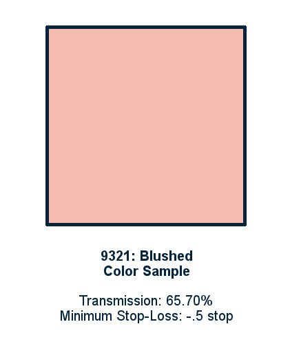Blushed 30cm x 30cm LED Light Filter