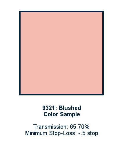 Blushed 60cm x 60cm LED Light Filter