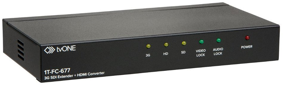 3G-SDI Converter and Audio De-embedder with HDMI