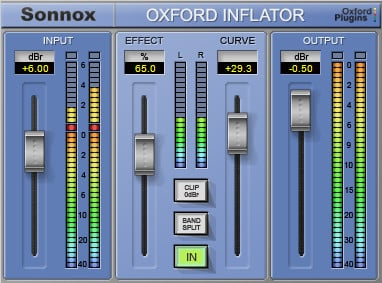 Sonnox Oxford Inflator Expansion HD-HDX Plugin OXFORD-INFLAT-HDHDX