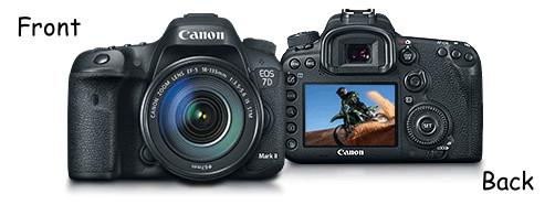 Canon EOS 7D Mark II Kit Digital Camera Kit with Accessories EOS-7DMKII-KIT
