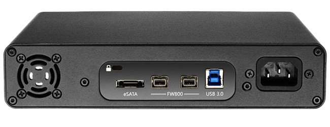 2 TB USB 3.0 / FireWire / eSATA Studio Hard Drive