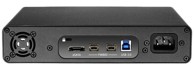 4 TB USB 3.0 / FireWire / eSATA Studio Hard Drive