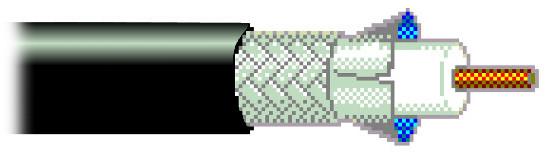 20-Foot Segment of 20AWG RG-59/U Wire