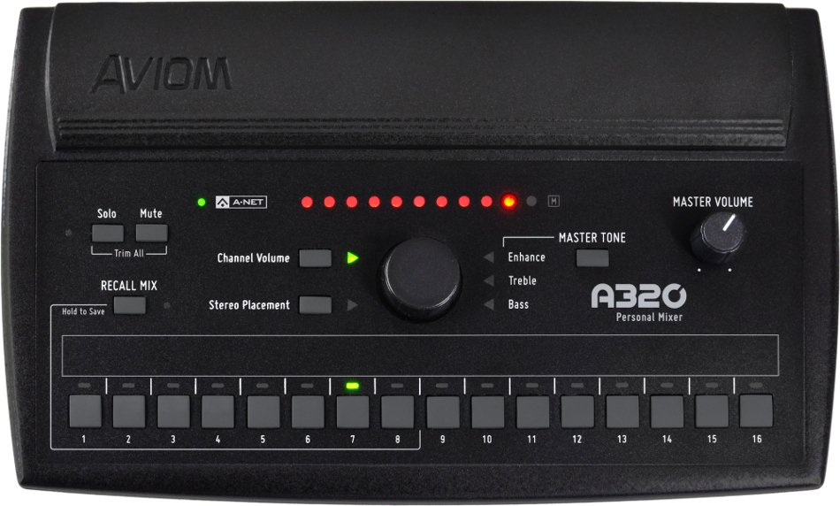 16-Channel Personal Monitor Mixer