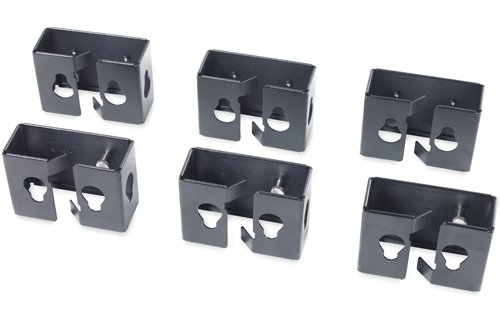 Cable Containment Brackets with PDU Mounting Capability for NetShelter Enclosures