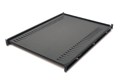 Black Fixed Rack Shelf, 250 lbs Capacity