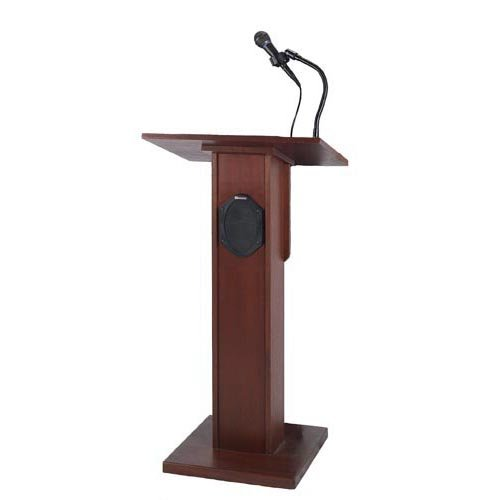 Wireless Elite Lectern with Lapel Microphone Transmitter