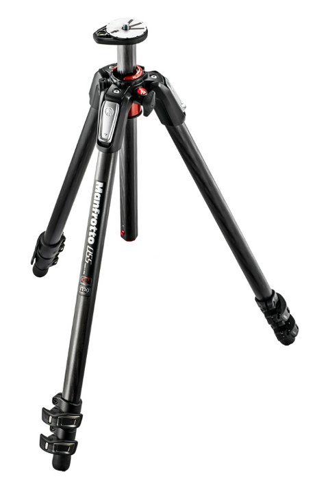 Manfrotto MT055CXPRO3  055 Carbon Fiber 3-section Tripod with Horizontal Column MT055CXPRO3