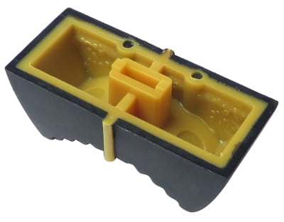 Yellow Slider Knob for PC3 keyboard.