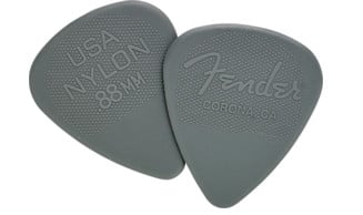 Fender 098-6351-XXX 12-Pack of Nylon Guitar Picks 098-6351-XXX