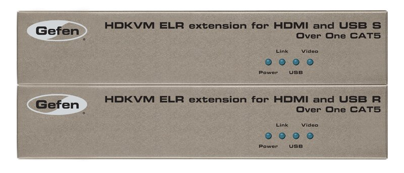 Extender for HDMI and USB over Single Cat-5