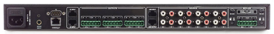 12 x 6 Digital Zone Processor