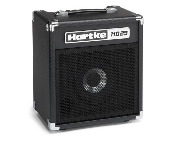 hartke hd25 hartke 25w 1x8 bass combo amplifier full compass systems. Black Bedroom Furniture Sets. Home Design Ideas