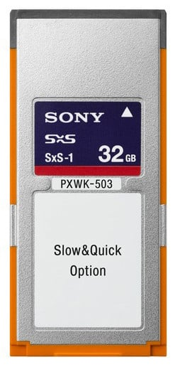 Slow and Quick XAVC Option Key for PXW-X500