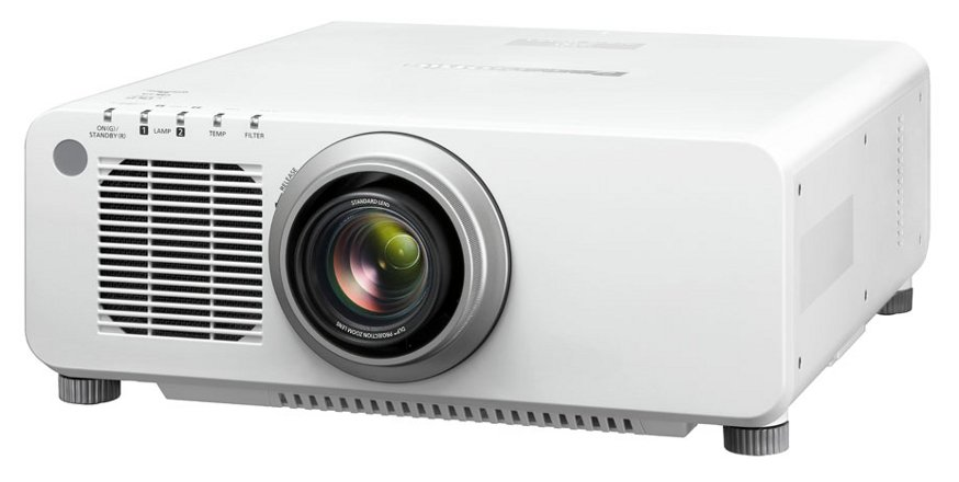 8500 Lumens WXGA DLP Large Venue Projector in White