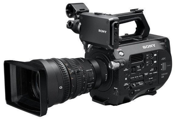 4K XDCAM Super 35mm Camcorder with Full Frame Powered Lens