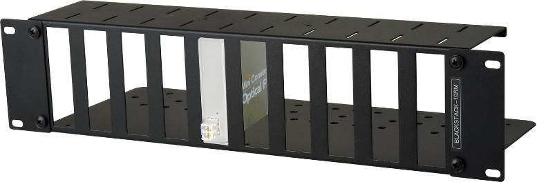 Connectronics 3RU High Density Blackmagic Design Universal Mini Converter RackMountt