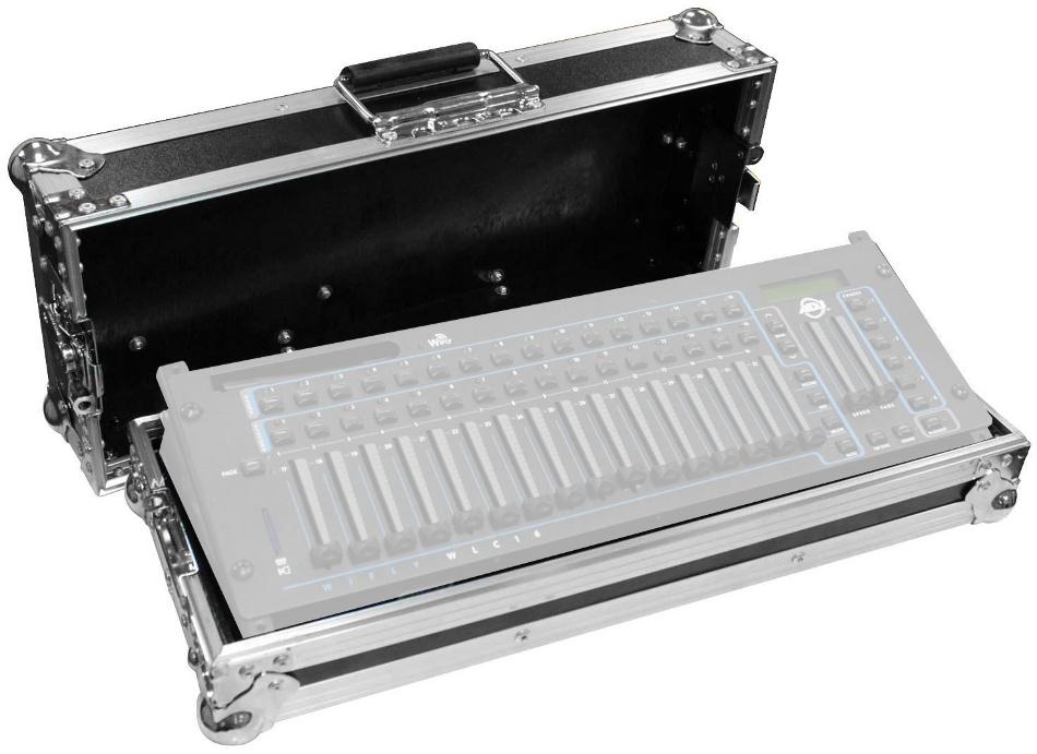 """Flight Ready 19"""" Rackmountable Light Controller Case"""