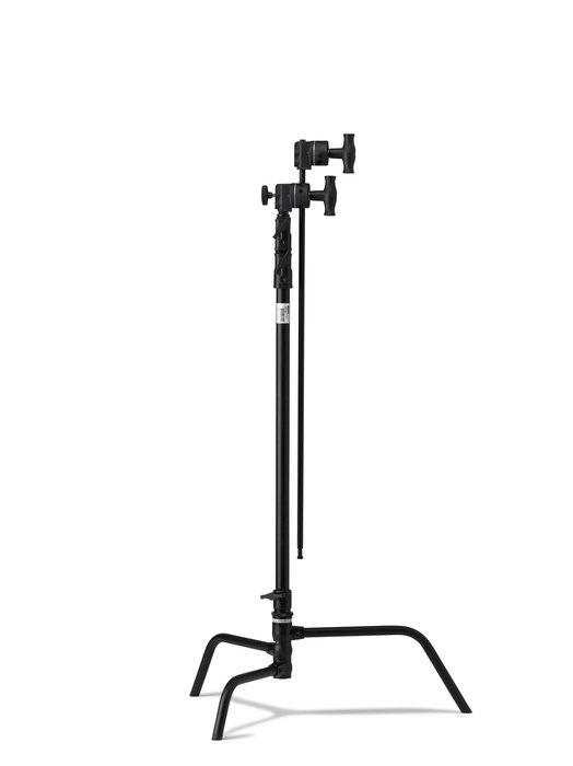 "40"" Turtle Base Master C Stand Kit in Black with 2.5"" Grip Head and 40"" Grip Arm with Hex Stud"