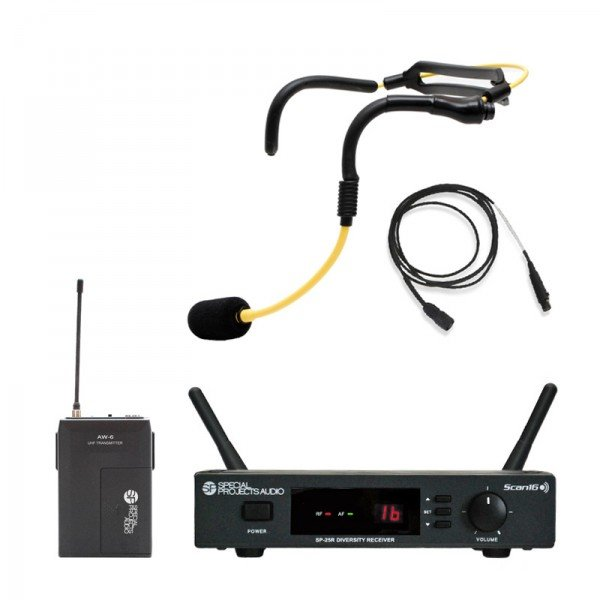 Scan16 Fitness Pack H2O Wireless Headset Microphone System
