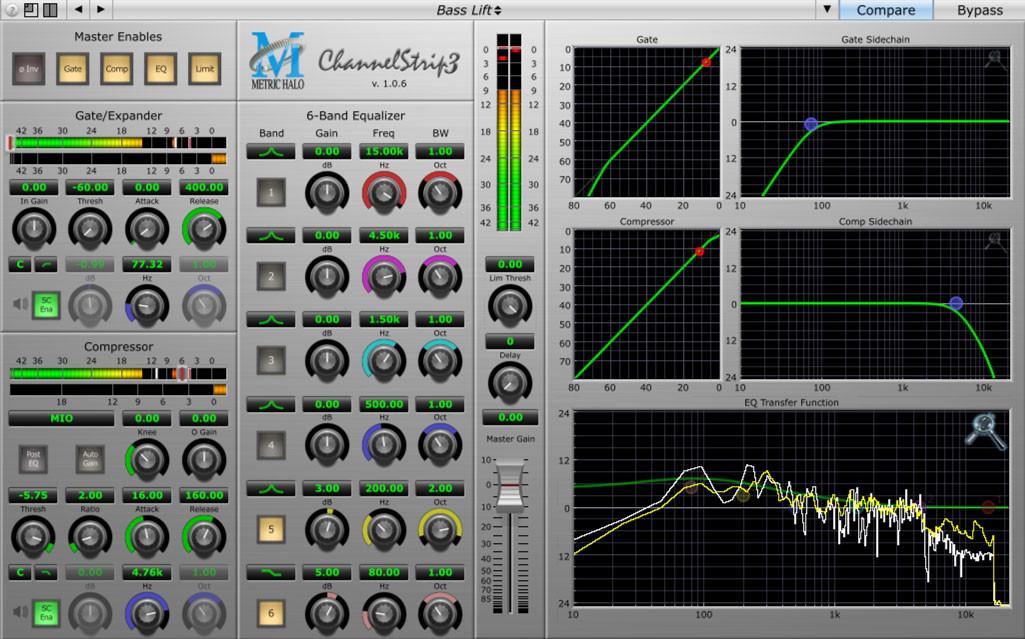 Channel Strip Garage Band Software Plugin