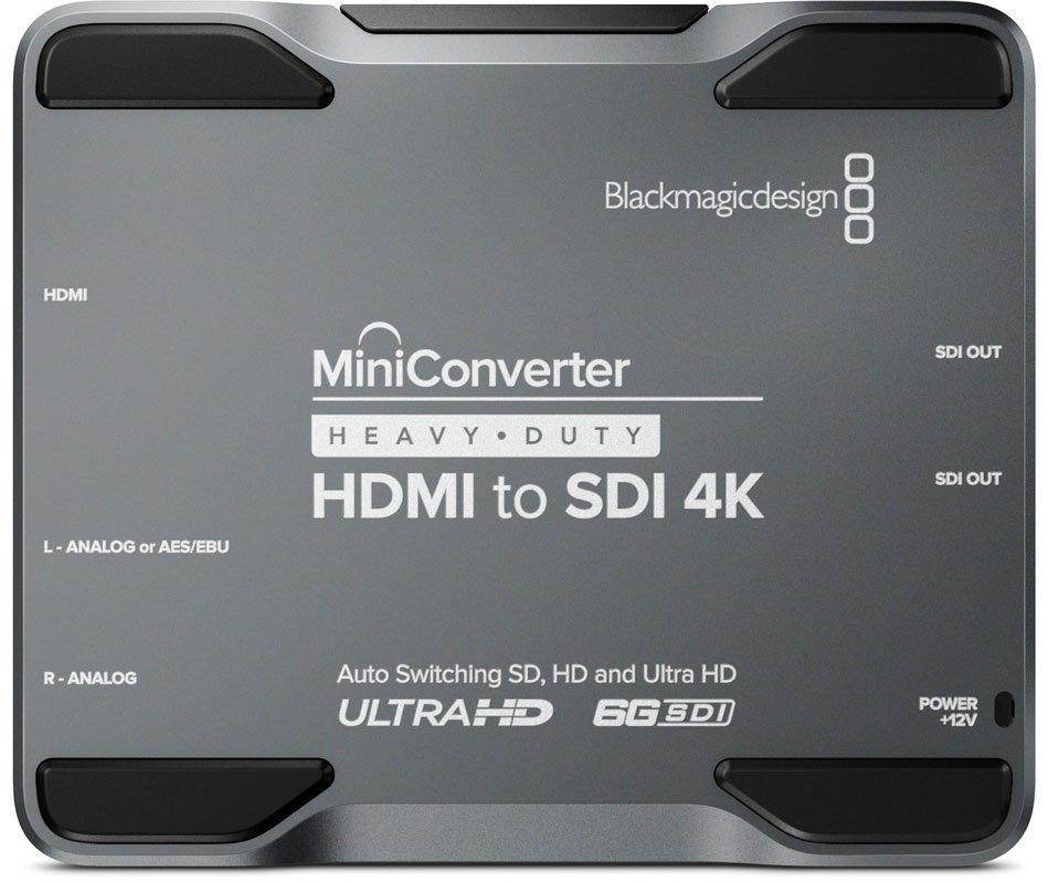 Blackmagic Design CONVMH/DUTYBHS4K Mini Converter Heavy Duty HDMI to SDI 4K CONVMH/DUTYBHS4K