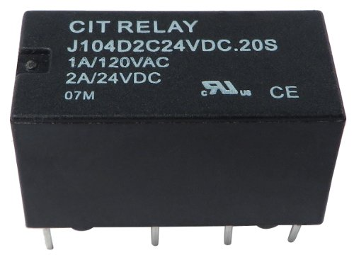 DPDT DIP 24v 8.3mA Relay